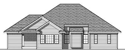 Rear Elevation Plan: 7-612