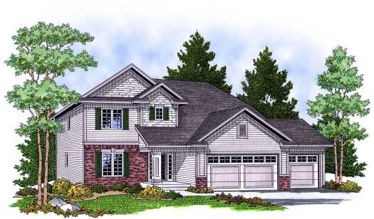Traditional Style House Plans Plan: 7-616