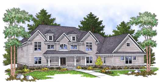Country Style Floor Plans Plan: 7-622