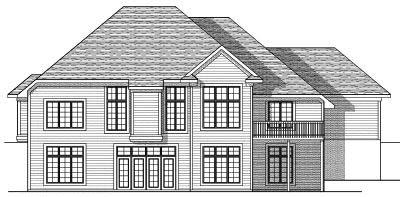 Rear Elevation Plan: 7-630