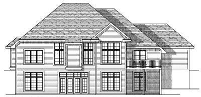 Rear Elevation Plan: 7-631