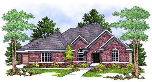 Traditional Style Floor Plans Plan: 7-632