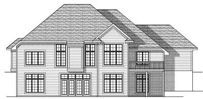 Rear Elevation Plan: 7-632