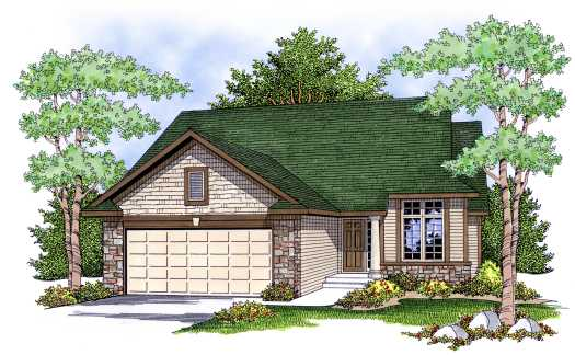 Traditional Style Floor Plans 7-636
