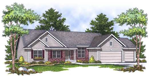 Ranch Style Floor Plans Plan: 7-637