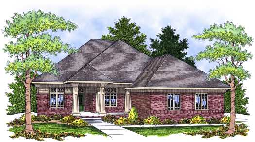 Craftsman Style Floor Plans Plan: 7-638