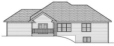 Rear Elevations Plan:7-645