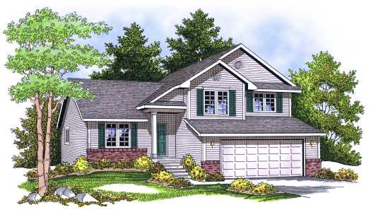 Traditional Style Floor Plans Plan: 7-646