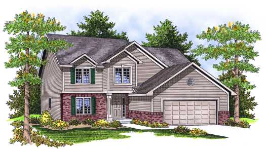 Traditional Style Floor Plans Plan: 7-648