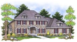 Southern-Colonial Style House Plans Plan: 7-649