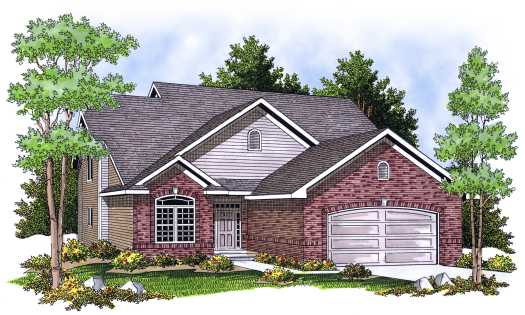 Traditional Style House Plans Plan: 7-651
