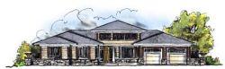 Prairie Style Home Design Plan: 7-661