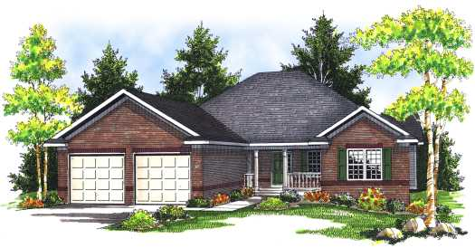 Traditional Style Floor Plans Plan: 7-663