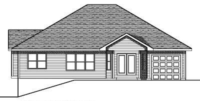 Rear Elevation Plan: 7-663