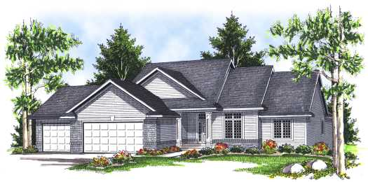 Traditional Style House Plans Plan: 7-665