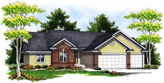 Traditional Style Floor Plans Plan: 7-669