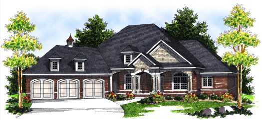 Southern Style House Plans Plan: 7-676