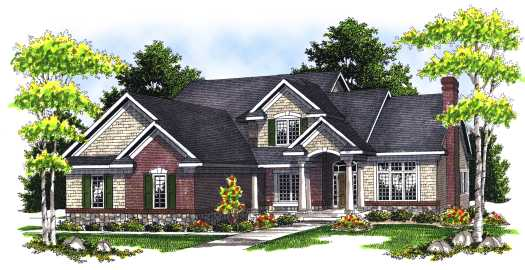 Traditional Style Floor Plans Plan: 7-679