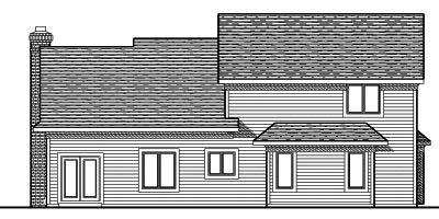 Rear Elevation Plan: 7-679