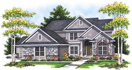 Traditional Style Floor Plans Plan: 7-682