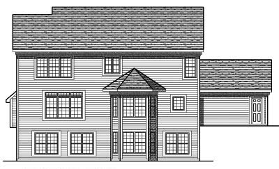 Rear Elevation Plan: 7-682
