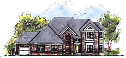 Traditional Style House Plans Plan: 7-684