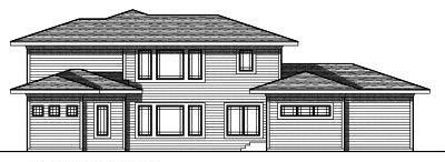 Rear Elevation Plan: 7-685