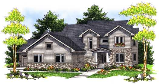 Craftsman Style House Plans Plan: 7-686