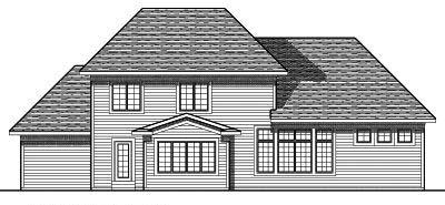 Rear Elevations Plan:7-689