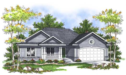 Traditional Style Floor Plans Plan: 7-697