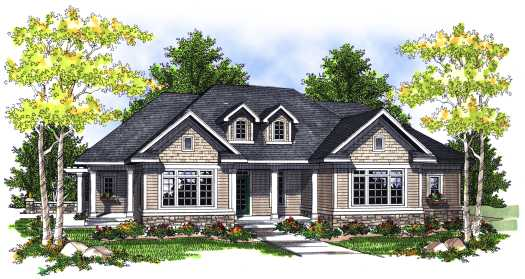 Traditional Style House Plans Plan: 7-698