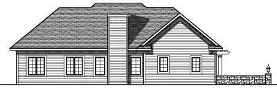 Rear Elevations Plan:7-698