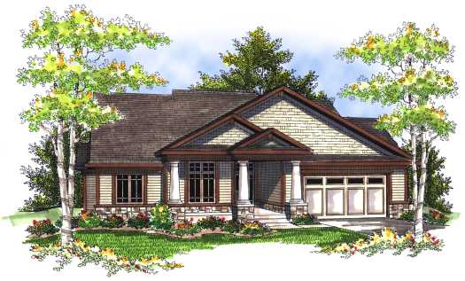 Craftsman Style House Plans Plan: 7-700
