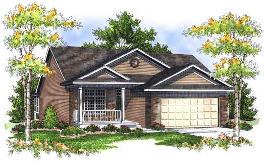Traditional Style Floor Plans Plan: 7-701