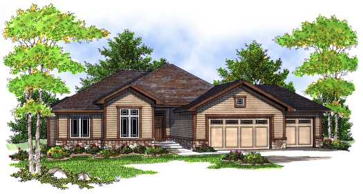 Traditional Style Floor Plans Plan: 7-702