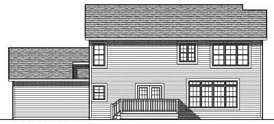 Rear Elevations Plan:7-703