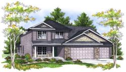 Traditional Style Home Design Plan: 7-705
