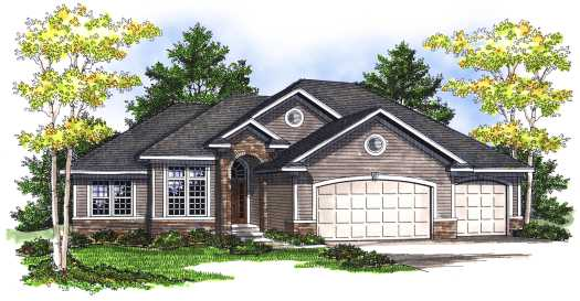 Traditional Style House Plans Plan: 7-707