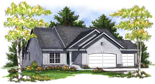 Traditional Style Floor Plans Plan: 7-710