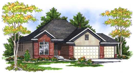 Traditional Style Floor Plans Plan: 7-711