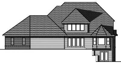 Rear Elevation Plan: 7-714