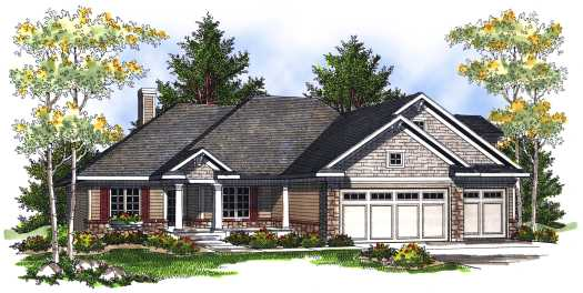 Traditional Style Floor Plans Plan: 7-717