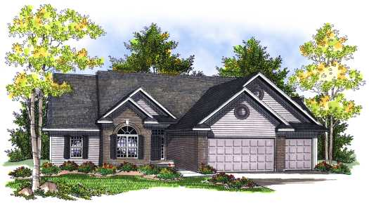 Traditional Style Floor Plans Plan: 7-722