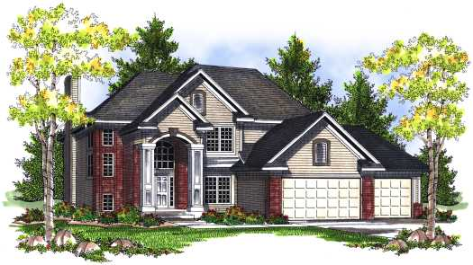 Traditional Style Floor Plans Plan: 7-723