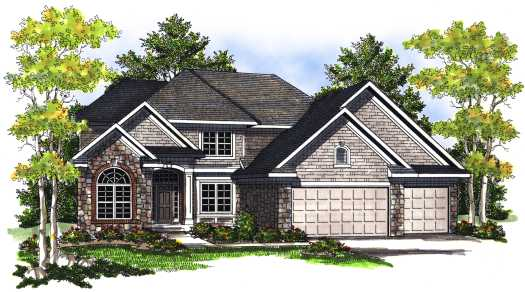 European Style Floor Plans Plan: 7-724