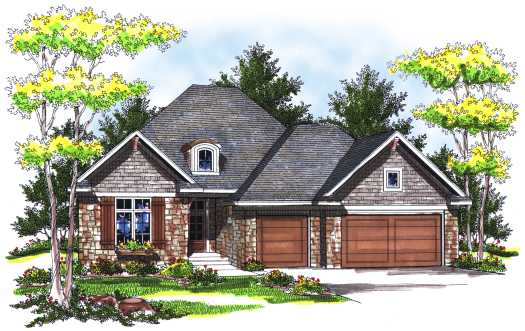 Traditional Style Floor Plans 7-725
