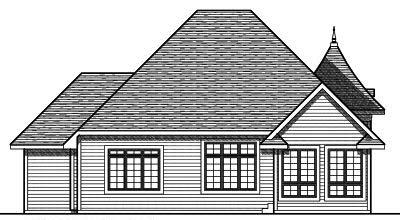 Rear Elevation Plan: 7-728