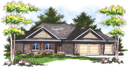 Traditional Style Floor Plans Plan: 7-731