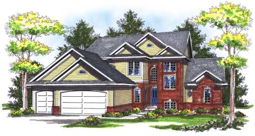 Traditional Style Floor Plans Plan: 7-734