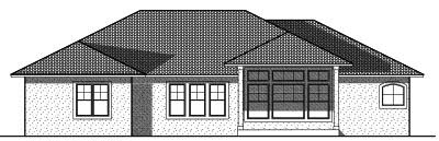 Rear Elevations Plan:7-736
